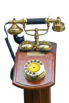 Free Vintage Phone-02 Royalty Free Stock Images - 6124859