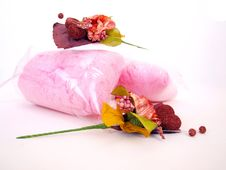 Free Two Paper Flower Candy Floss H Stock Photos - 6125033