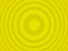 Yellow Target Royalty Free Stock Photography