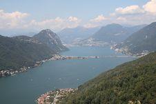 Free Lugano Lake Stock Photography - 6125182