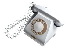 Free Old Telephone. Royalty Free Stock Image - 6125266