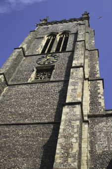 Free Church Tower Royalty Free Stock Photos - 6125428