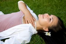 Free Relaxing Woman Royalty Free Stock Photography - 6125687