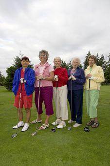 Free Elderly Golfers Stock Photos - 6125903