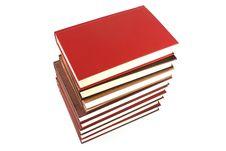 Free Books Pyramid Stock Image - 6126511