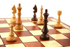 Free Wooden Chess Royalty Free Stock Photo - 6126565