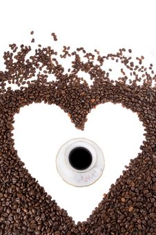 Free I Love Coffee Royalty Free Stock Photography - 6126667