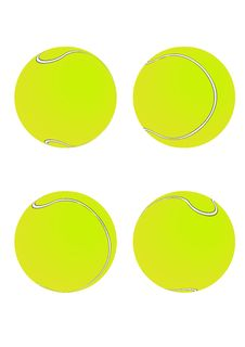 Free Tennis Balls [Green] Stock Photography - 6126692