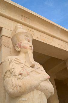Free Hatshepsut Sculpture In Deir El Bahri Stock Images - 6127174