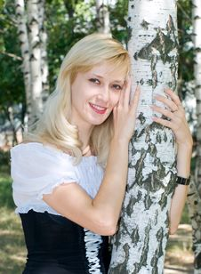 Free Blonde Girl Stock Photography - 6128112