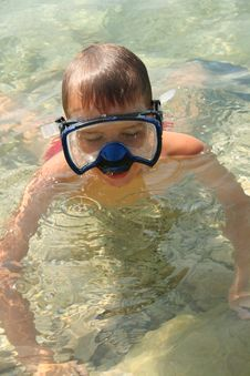 Swimmersdiver Stock Photography