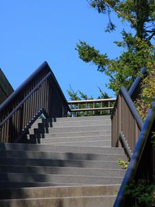 Stairway To The Sky Stock Photography