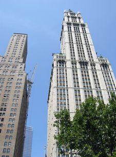 Free New York Architecture Royalty Free Stock Photo - 6128705