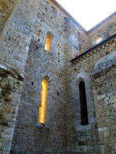 Free Details Of San Galgano Abbey Royalty Free Stock Image - 6128776