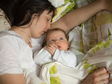 Free Baby With Mother Royalty Free Stock Image - 6129516