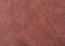 Free Natural Leather Texture Royalty Free Stock Photos - 6129678