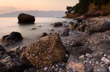 Mediterranean Seascape Stock Photos