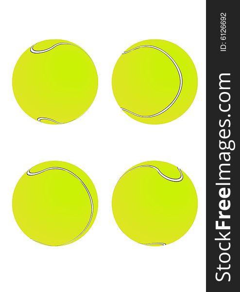 Tennis Balls [Green]