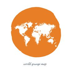 Free World Map Watercolor, Vector Illustration Stock Photo - 61200600