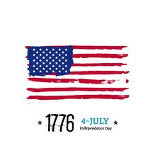 Free Fourth Of July Independence Illustration Stock Image - 61201041