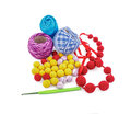 Free Balls Of Yarn For Knitting Stock Image - 61258991