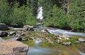 Free The Hidden Falls In Grand Teton Royalty Free Stock Photo - 6131715