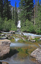 Free The Hidden Falls In Grand Teton Royalty Free Stock Photos - 6131718