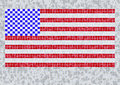 Free Grunge Flag Of USA Royalty Free Stock Photos - 6134928