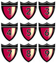 Free Crest With Numbers Royalty Free Stock Photos - 6139648