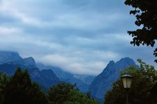 Free Stormy Zugspitze Royalty Free Stock Images - 6130449