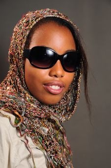 Free African Fashion Model Royalty Free Stock Photo - 6130705