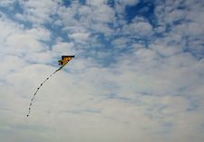 High Flying Kite Royalty Free Stock Photos