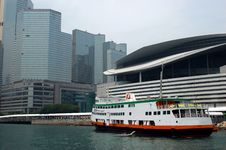 Free Hongkong Harbour With Ship Stock Images - 6131064