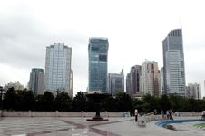 Free Chinese City - Shanghai Royalty Free Stock Image - 6131106