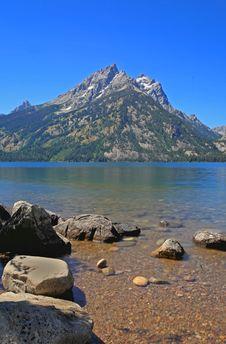 Free Jenny Lake In Grand Teton Royalty Free Stock Image - 6131406