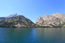 The Jenny Lake In Grand Teton Royalty Free Stock Photos
