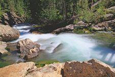 Free The Hidden Falls In Grand Teton Stock Photos - 6131713