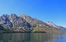 Free The Jenny Lake In Grand Teton Royalty Free Stock Images - 6131769