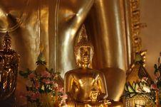 Free Buddha In A Wat Stock Photos - 6131783