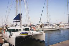 Free Yachts In Harbor Stock Images - 6131874