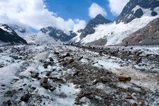 Free Glacier With Rocks Royalty Free Stock Image - 6131916