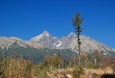 Free Mountain Lomnicky Stit Stock Image - 6132131