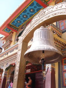 Free Bell In The Bouddhanath Area Stock Photo - 6132360