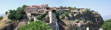 Monastery Of Meteora Stock Photos