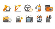 Free Industry Icons Set Stock Photography - 6132472