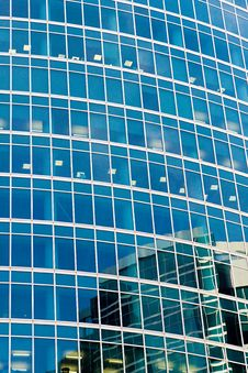 Free Reflections In Windows Royalty Free Stock Photos - 6133108