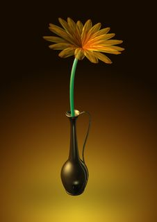 Free Flower In The Vase Stock Photo - 6133470