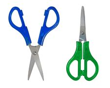 Two Scissors Royalty Free Stock Image