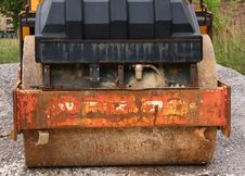 Free Steamroller Royalty Free Stock Image - 6133936