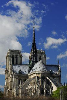 Free Notre Dame De Paris . Stock Images - 6134014